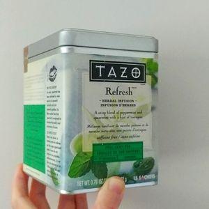 4/$15 - empty TAZO tea tin